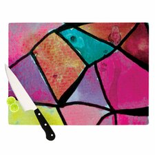 Stain Glass 3 Cutting Board