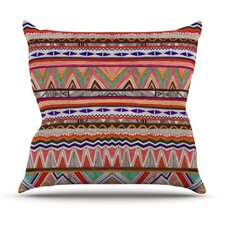Native Tessellation Throw Pillow