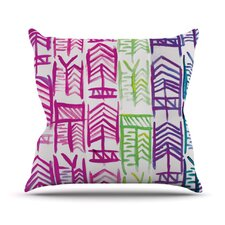 Quiver III Throw Pillow