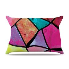 Stain Glass 3 Fleece Pillow Case