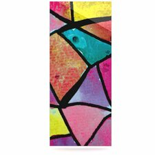 Stain Glass 3 by Theresa Giolzetti Graphic Art Plaque