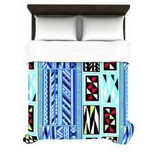 <strong>KESS InHouse</strong> American Blanket Pattern Duvet Cover Collection
