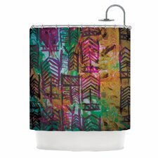 Quiver IV Polyester Shower Curtain