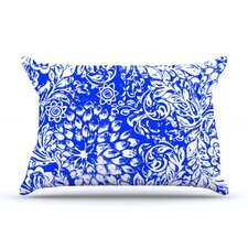 Bloom Blue for You Fleece Pillow Case