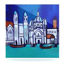 Venice by Theresa Giolzetti Painting Print Plaque