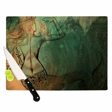 Poor Mermaid Cutting Board