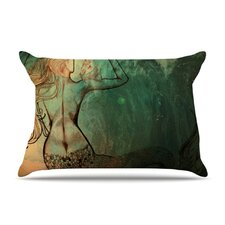 Poor Mermaid Fleece Pillow Case