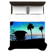 Carlsbad State Beach Duvet Cover Collection