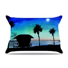 Carlsbad State Beach Fleece Pillow Case