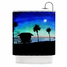 <strong>KESS InHouse</strong> Carlsbad State Beach Polyester Shower Curtain