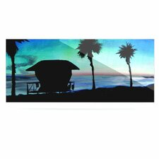 Carlsbad State Beach by Theresa Giolzetti Graphic Art Plaque