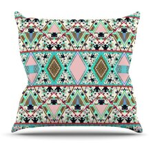 Deco Hippie Throw Pillow