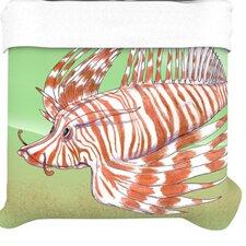 """Fish Manchu"" Woven Comforter Duvet Cover"