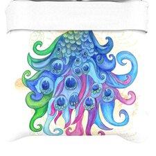 """""""Peace"""" Woven Comforter Duvet Cover"""