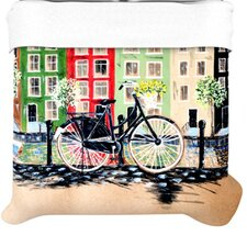 """Bicycle"" Woven Comforter Duvet Cover"