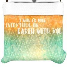 """""""Deco II"""" Woven Comforter Duvet Cover"""