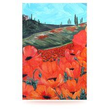 <strong>KESS InHouse</strong> Poppies Floating Art Panel