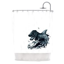 The Blanket Polyester Shower Curtain