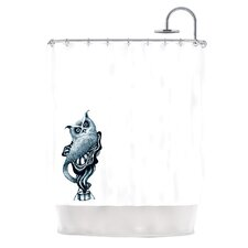 Owl Polyester Shower Curtain