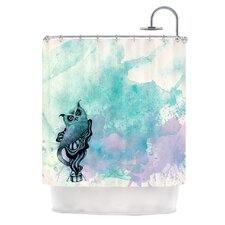 Owl II Polyester Shower Curtain