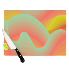 <strong>KESS InHouse</strong> Way of the Waves Blossom Bird Cutting Board