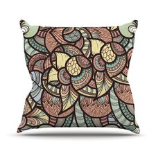 Wild Run Throw Pillow