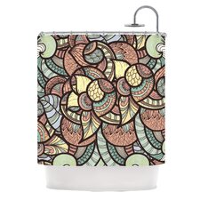 Wild Run Polyester Shower Curtain