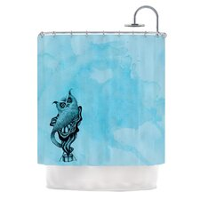 Owl III Polyester Shower Curtain