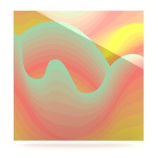 Way of the Waves by Akwaflorell Graphic Art Plaque
