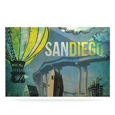 San Diego by iRuz33 Graphic Art Plaque