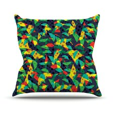 Fruit and Fun by Akwaflorell Throw Pillow