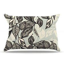 Java Leaf Microfiber Fleece Pillow Case