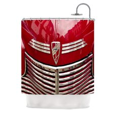 Chevy Polyester Shower Curtain