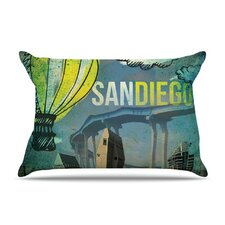 San Diego Microfiber Fleece Pillow Case