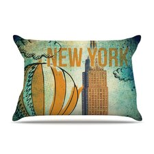 New York Microfiber Fleece Pillow Case