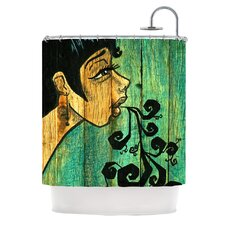 Breathe Polyester Shower Curtain