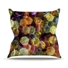 Warm Sparkle Throw Pillow
