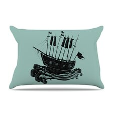 Ship Microfiber Fleece Pillow Case