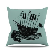 <strong>KESS InHouse</strong> Ship Throw Pillow