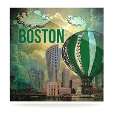 Boston by iRuz33 Graphic Art Plaque
