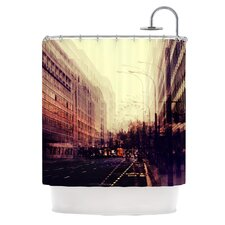 London Polyester Shower Curtain
