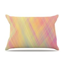 Pastel Abstract Microfiber Fleece Pillow Case