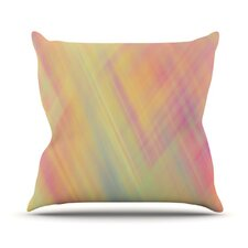 Pastel Abstract by Ingrid Beddoes Throw Pillow