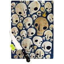 Skulls Cutting Board