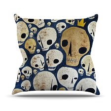 <strong>KESS InHouse</strong> Skulls Throw Pillow