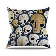Skulls by Jaidyn Erickson Throw Pillow