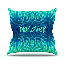Tattooed Discovery Throw Pillow