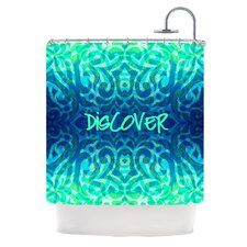 Tattooed Discovery Polyester Shower Curtain