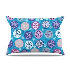 Floral Winter Microfiber Fleece Pillow Case