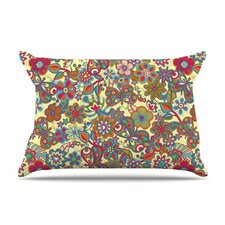 My Butterflies and Flowers Microfiber Fleece Pillow Case